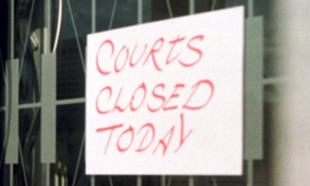 Courts Closed Today (Photo: Courtesy Photo)