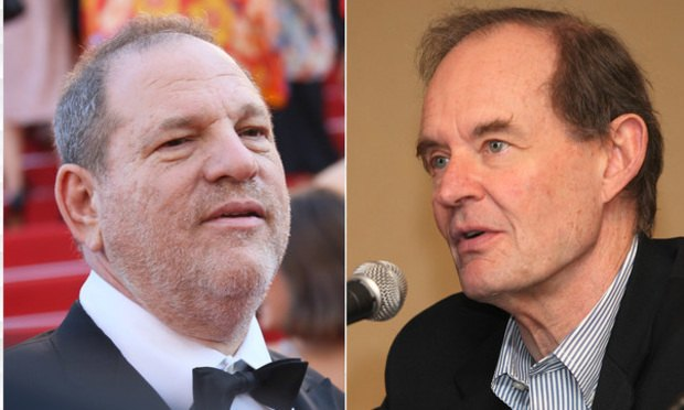 Harvey Weinstein and David Boies