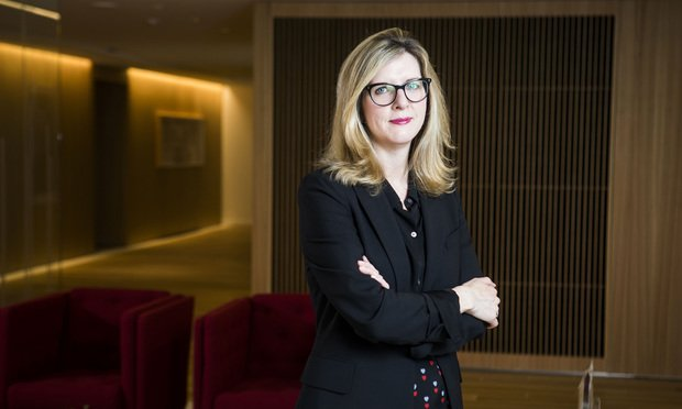 Kathy Ruemmler, a Latham & Watkins practice chair heading for Goldman Sachs.