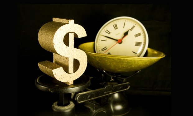 Westlake Legal Group dollar-sign-scale-clock-Article-201901182055 Lawyers Caught Overbilling? The Billable Hour Shares the Blame