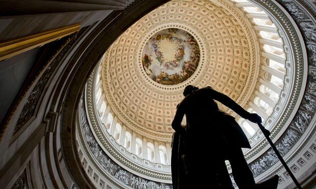 Capitol rotunda, Washington.