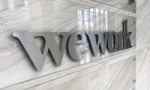 WeWork offices in Tysons, Virginia.