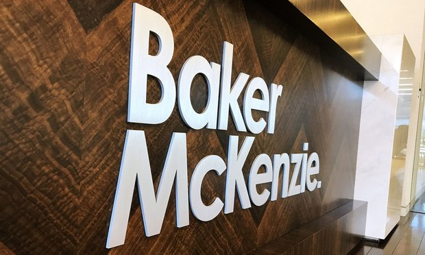 Baker McKenzie office sign