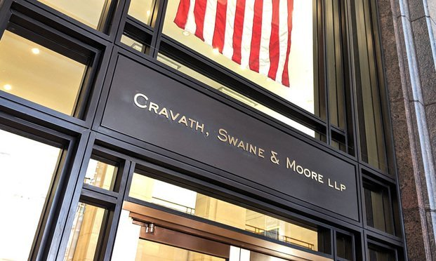 Cravath, Swaine & Moore. (Photo: Mike Scarcella/ALM)