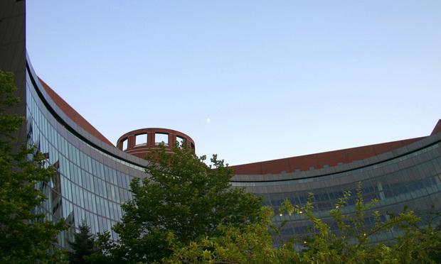 John Joseph Moakley federal courthouse in Boston, Massachusetts. Photo by Danielle Walquist via Wikimedia Commons.
