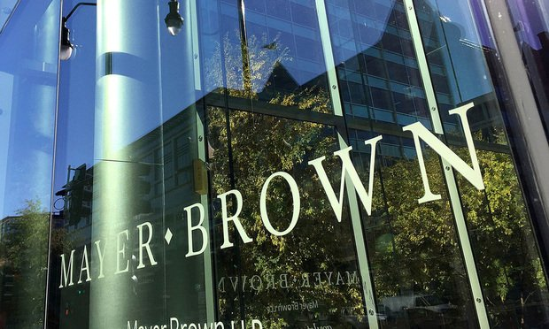Mayer Brown offices in Washington, D.C. Photo by Diego M. Radzinschi/THE NATIONAL LAW JOURNAL