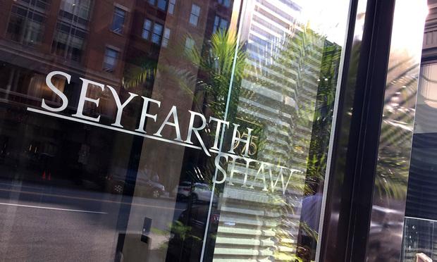 Seyfarth Shaw offices in Washington, D.C. September 15, 2016.