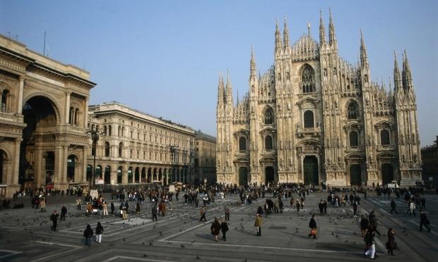 the Duomo di Milano in Milan, Italy