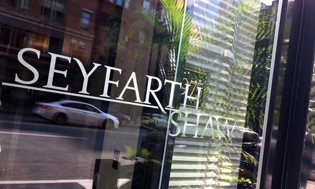 Seyfarth Shaw's offices in Washington, D.C.