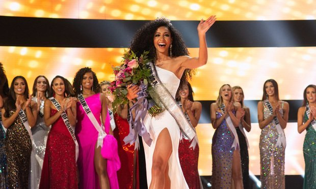 Cheslie Kryst, an associate with the North Carolina law firm Poyner Spruill, was crowned Miss USA 2019