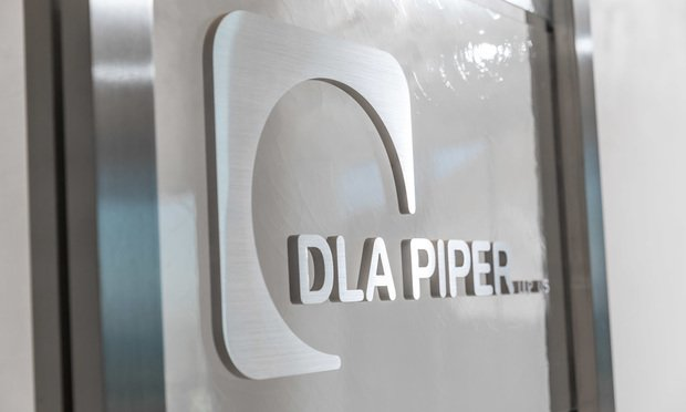 DLA Piper sign