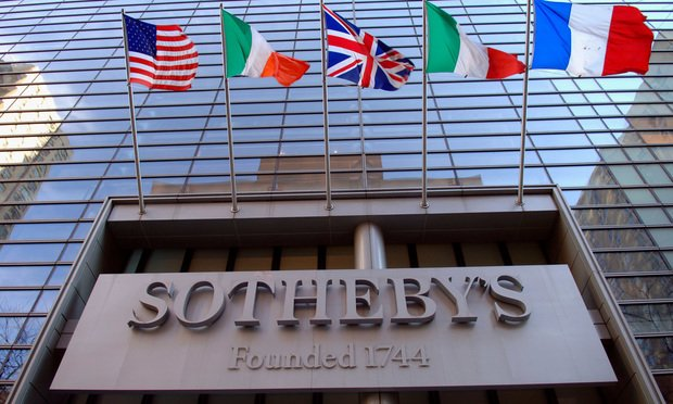 Sotheby's auction house.