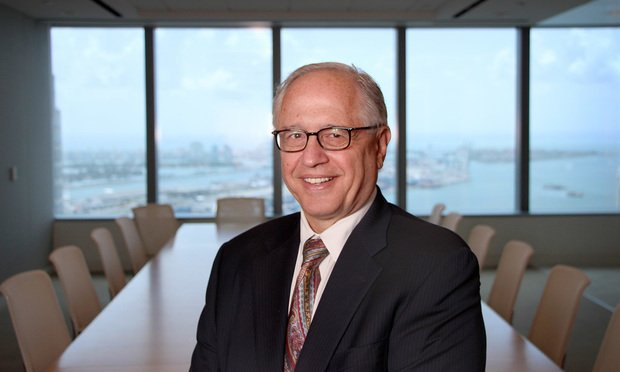 Greenberg Traurig chair Richard Rosenbaum.