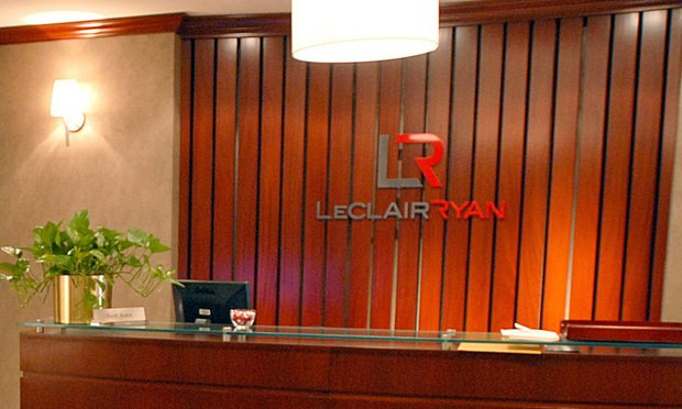 LeClairRyan offices. Photo: Rick Kopstein/ALM