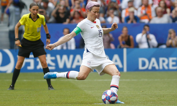 Megan Rapinoe of USA during the FIFA Women's World Cup France 2019. Photo: Romain Biard/Shutterstock.com