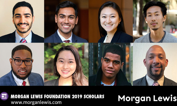 Morgan Lewis Taps Eight Law Students for Diversity