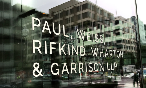 Paul, Weiss, Rifkind, Wharton & Garrison offices in Washington, D.C.