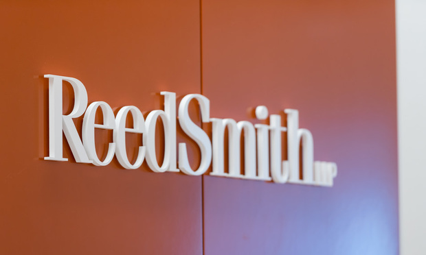 Reed Smith sign