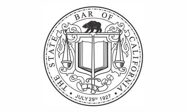 State Bar of California's logo.