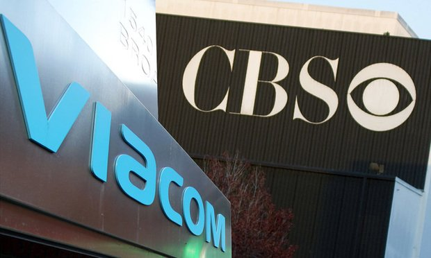 CBS and Viacom signs