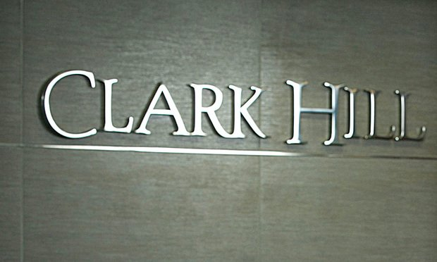 Clark Hill Office Sign