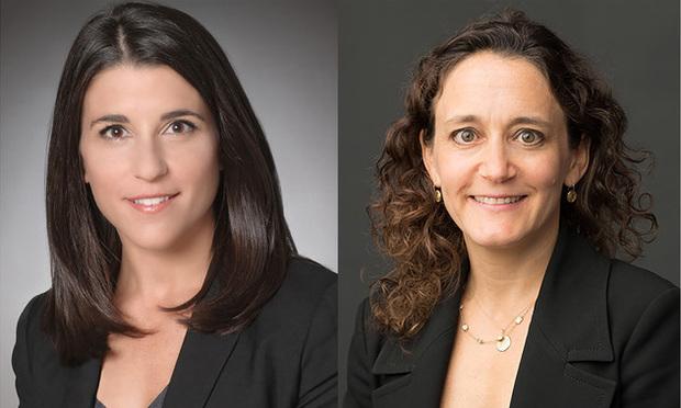 Kirkland & Ellis partners Lauren Casazza, left, and Kim Nemirow, right.