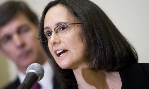Then-Illinois Attorney General Lisa Madigan in Washington, D.C. March 1, 2010. Photo by Diego M. Radzinschi