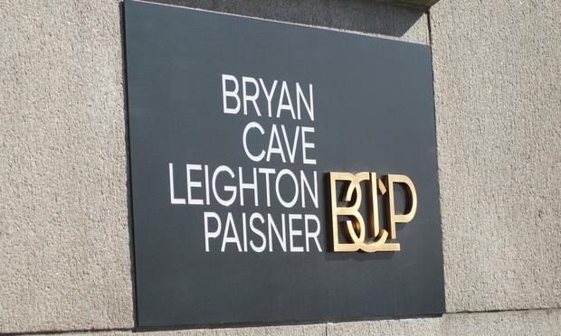 Bryan Cave Leighton Paisner sign.