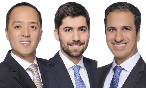 ackson Hwu, Caio Prado and Leandro Molina