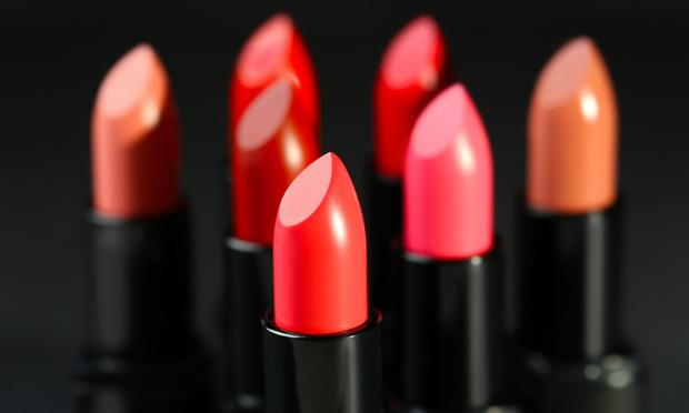 Lipsticks of different shades.