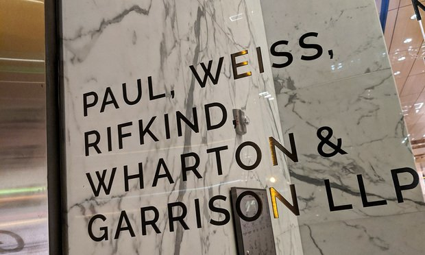 Paul Weiss Office Sign Article 201910201649.'