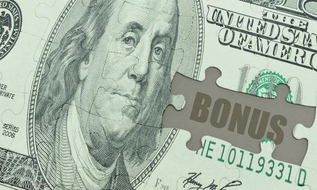 Bonus dollars