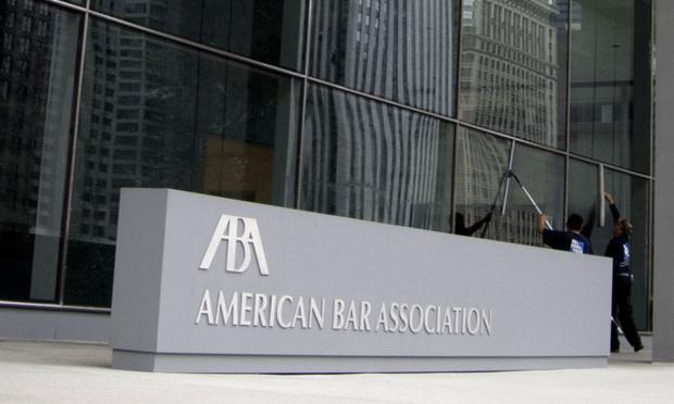 American Bar Association headquarters in Chicago. Photo: Diego M. Radzinschi/ALM