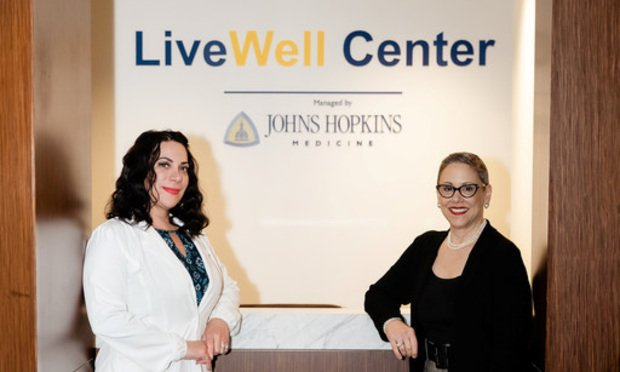 Anna Marie Douglas( left ) ARNP – Nurse Practitioner and Annette Sciallo(right) Director of Global Benefits & Well-Being with Latham & Watkins. Courtesy photo.