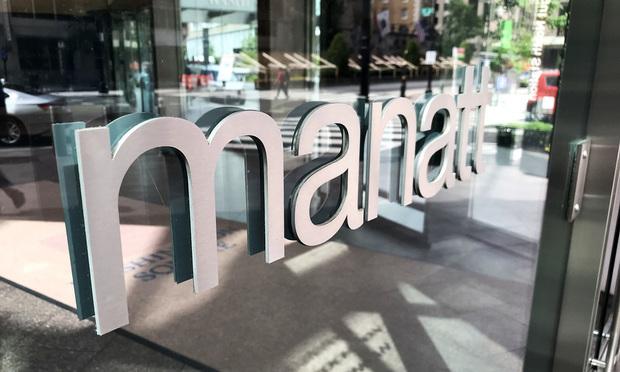 Manatt Office Sign