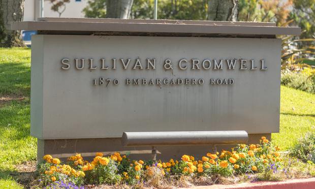 Sullivan & Cromwell sign