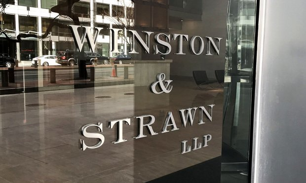 Winston & Strawn offices in Washington, D.C. March 13, 2019.