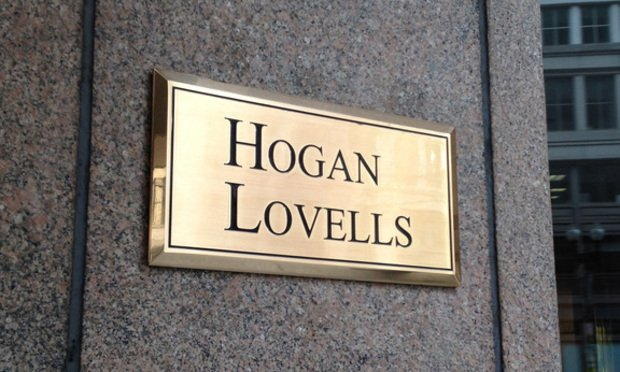 Hogan Lovells sign