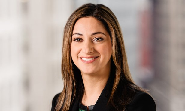 Sheila Mortazavi, partner, Hunton Andrews Kurth