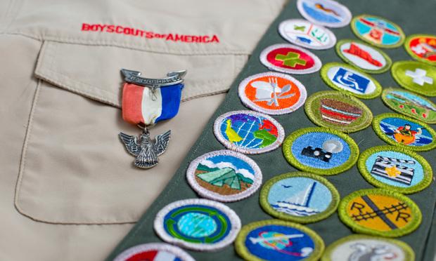 Boy Scouts sash
