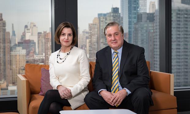 Natasha Harrison and Nick Gravante