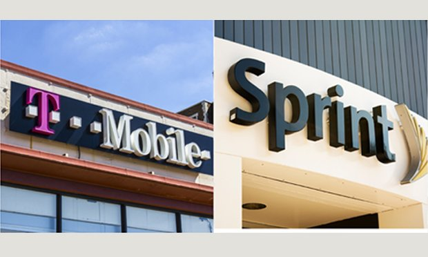 T Mobile and Sprint Composite.