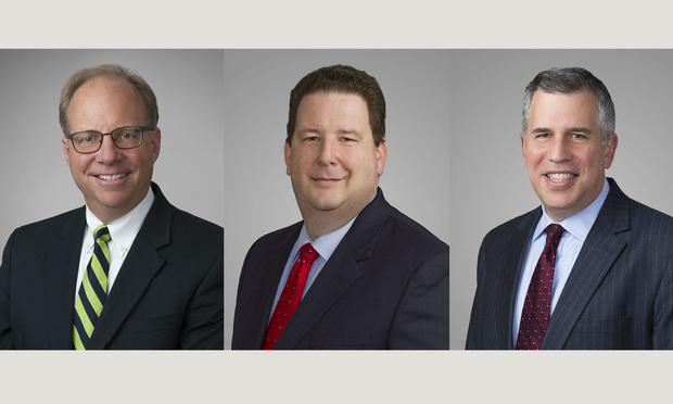 Mark Lutes, Jim Flynn, and David Garland.