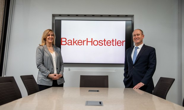Robb Adkins and Kimberly Morris BakerHostetler San Francisco.
