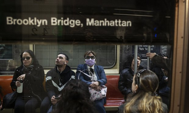 New York City Commuters Urged To Avoid Packed†Subway†Cars