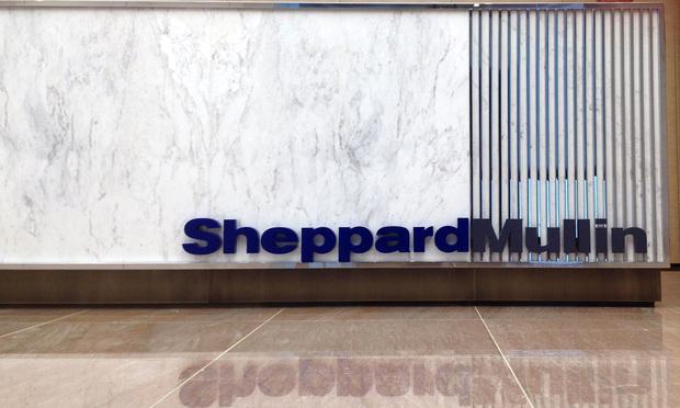Sheppard Mullin Sign