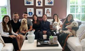 7 People 4 Lawyers 3 Dogs and Spotty Wi Fi: In Quarantine With O'Melveny Chairman Brad Butwin