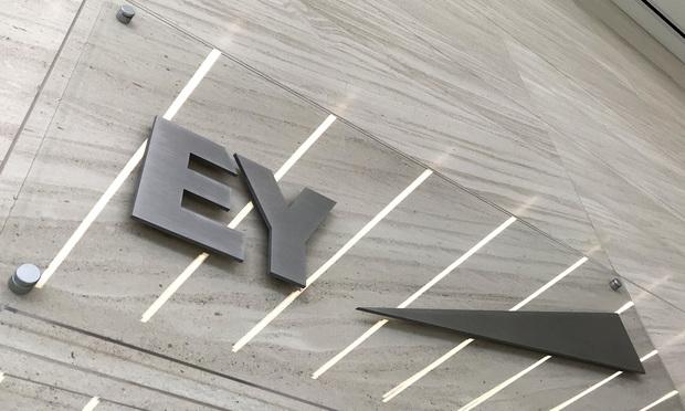EY sign