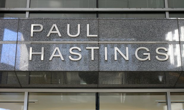 Paul Hastings logo in Atlanta/courtesy photo