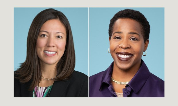 Stacie Yee, executive chair of diversity and inclusion, and Rosa Walker, director of diversity and inclusion at Pillsbury Winthrop Shaw Pittman